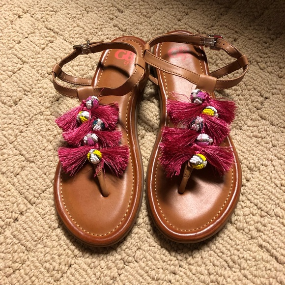 GB girls Other - NWOT GB Girls Tassel Sandals Size 5M